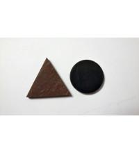 Гармонизаторы карманные шунгит + малиновый кварцит